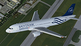 SkyTeam (Air France) - Airbus A320-211 - [F-GFKS]